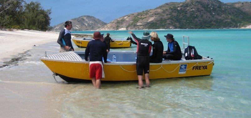 מחקר בשוניות אלמוגים - החוג למדעי הסביבה , האוניברסיטה העברית בירושלים